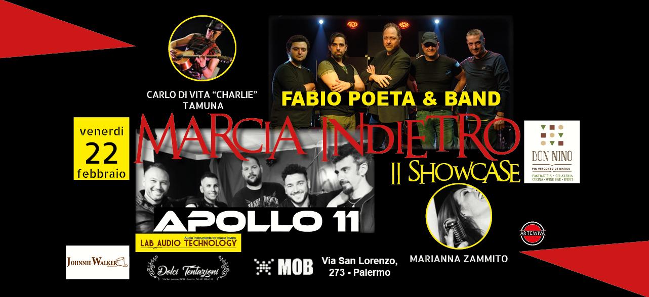 MARCIA INDIETRO 2° SHOWCASE - 22 FEBBRAIO